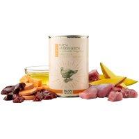 Nassfutter alsa nature FINEST Puten-Muskelfleisch mit Süßkartoffel, Mango & Leinöl
