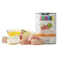 Nassfutter alsa nature Junior Huhn mit Pastinake & Apfel