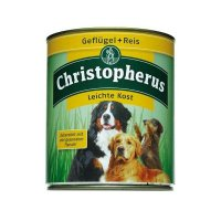 Nassfutter Christopherus Leichte Kost Geflügel & Reis