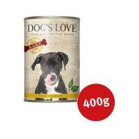 Nassfutter Dogs Love B.A.R.F. Huhn Pur