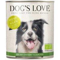 Nassfutter Dogs Love Bio Huhn