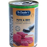 Nassfutter Dr. Clauders Selected Meat Pute & Reis