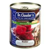 Nassfutter Dr. Clauders Selected Meat Senior