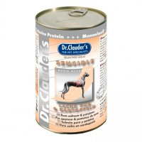 Nassfutter Dr. Clauders Selected Meat Sensible Lachs pur & Kartoffel