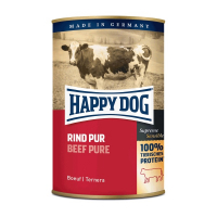 Nassfutter Happy Dog Rind Pur