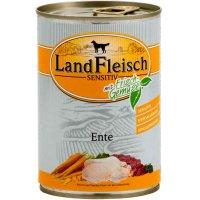 Nassfutter LandFleisch Sensitiv Ente