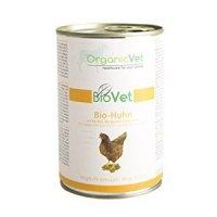 Nassfutter OrganicVet BIOVET Bio-Huhn mit Bio-Reis, Bio-Zucchini & Bio-Kürbis