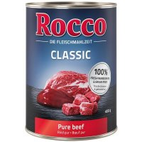 Nassfutter Rocco Classic Rind pur
