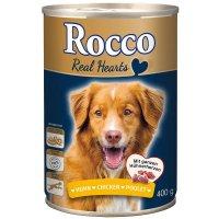 Nassfutter Rocco Real Hearts Huhn mit ganzen Hühnerherzen