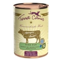 Nassfutter Terra Canis Rind Pur