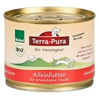 Nassfutter Terra-Pura Bio-Herzragout
