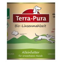 Nassfutter Terra-Pura Bio-Linsenmahlzeit
