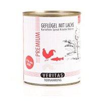 Nassfutter Veritas Premium Geflügel mit Lachs, Kartoffeln, Spinat, Kräuter, Beeren