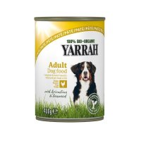 Nassfutter Yarrah 100% Bio Organic Paté Huhn mit Meeresalgen & Spirulina in Soße