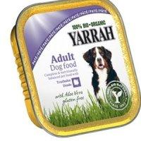 Nassfutter Yarrah 100% Bio Organic Paté Truthahn mit Aloe Vera