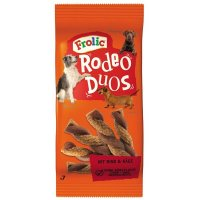 Snacks Frolic Rodeo Duos mit Rind & Käse