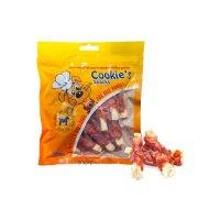 Snacks HansePet Cookies Hähnchen Seelachs-Streifen