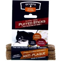 Snacks QCHEFS Dental-Vital PUFFED STICKS gepufft