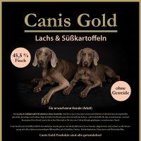 Trockenfutter Canis Gold Adult Lachs & Süßkartoffel