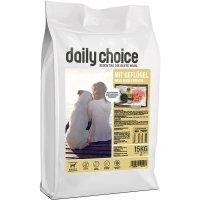 Trockenfutter daily choice basic mit Gefügel, Reis und Erbsen