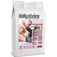 Trockenfutter daily choice basic mit Lachs, Reis und Erbsen
