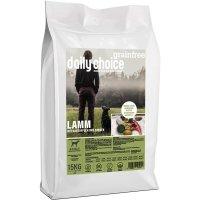 Trockenfutter daily choice Grainfree Lamm mit Kartoffeln und Erbsen