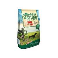 Trockenfutter Dehner Best Nature Mini Adult, Rind und Lachs