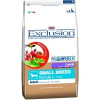 Trockenfutter Exclusion Mediterraneo Small Breed Adult Lamb