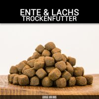 Trockenfutter George and Bobs Ente & Lachs Adult