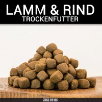 Trockenfutter George and Bobs Lamm & Rind Adult