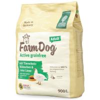 Trockenfutter Green Petfood Farmdog Active grainfree Adult mit Tierschutz-Hühnchen & roter Linse