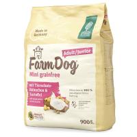 Trockenfutter Green Petfood Farmdog Mini grainfree Adult/Junior mit Tierschutz-Hühnchen & Kartoffel