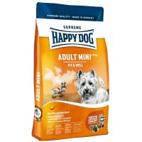 Trockenfutter Happy Dog Supreme Fit & Well Adult Mini