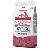 Trockenfutter MONGE Speciality Line All Breeds Adult Rind, Reis und Kartoffel