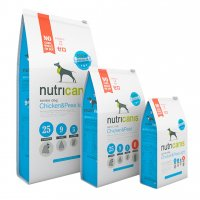 Trockenfutter nutricanis Senior Dog Chicken & Peas Light