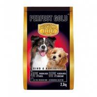 Trockenfutter Perfecto Dog Gold Rind + Kartoffel
