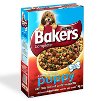 Trockenfutter Purina Bakers Complete Puppy Beef