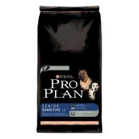 Trockenfutter Purina Pro Plan Senior Sensitive 7+ Lachs & Reis