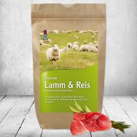 Trockenfutter Schecker DOGREFORM Lamm & Reis