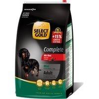Trockenfutter Select Gold Complete Adult Mini Rind