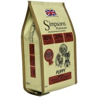 Trockenfutter Simpsons Premium Puppy 80/20 Fish & Chicken