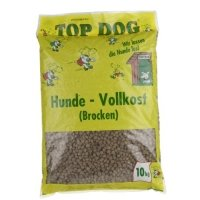 Trockenfutter Top Dog Hunde-Vollkost Brocken
