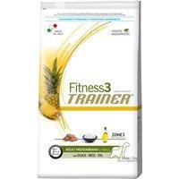 Trockenfutter Trainer Fitness 3 Adult Medium/Maxi Duck & Rice