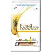Trockenfutter Trainer Fitness 3 Adult Medium/Maxi Horse & Peas