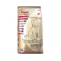 Trockenfutter TropiDog Super Premium Junior Medium & Large Breeds - Turkey, Salmon & Eggs