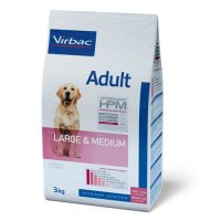 Trockenfutter Virbac Veterinary HPM Large & Medium - Adult Dog