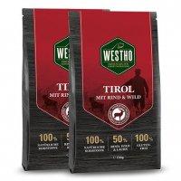 Trockenfutter WESTHO Tirol mit Wild & Rind