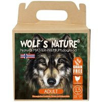 Trockenfutter Wolfs Nature Adult Landhuhn