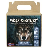 Trockenfutter Wolfs Nature Light / Senior Lachs